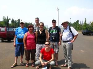 Gruppenfoto bei der Reise 2015